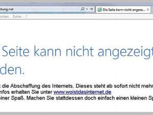 So sehen zukünftig die Fehlermeldungen aus, die man erhält, wenn man eine Internetseite sucht.