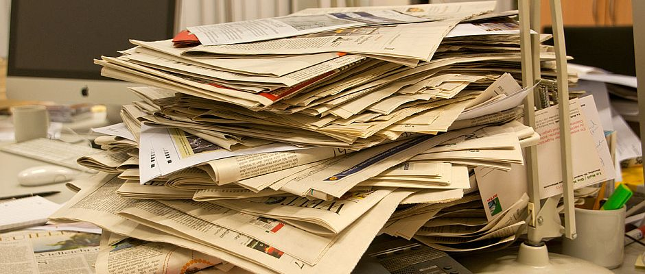 Symbolfoto: Zeitungen.