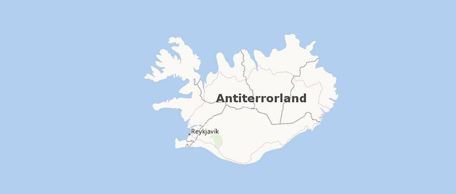 Antiterrorland, formally known as Island.