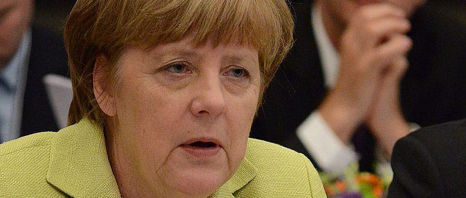 Fühlt sich wie ein Bundespräsident: Angela Merkel.