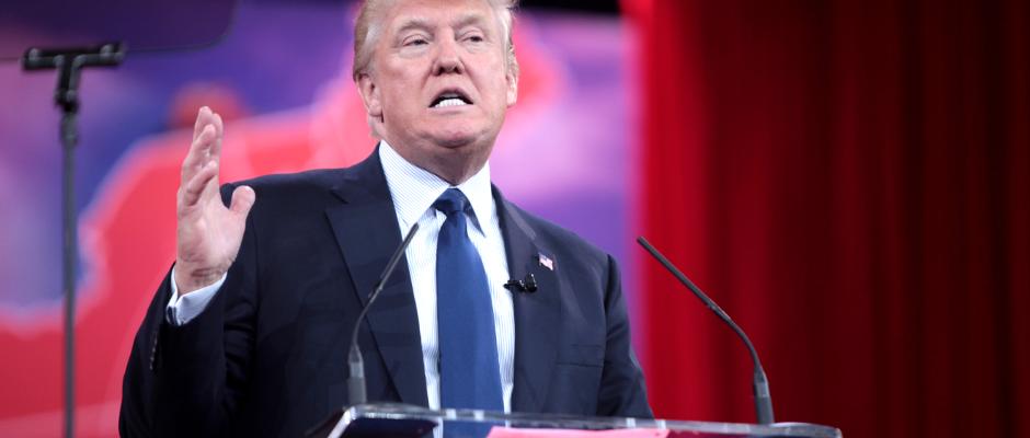 Donald Trump ist endlich wieder in der Obhut von liebevollen, aber strengen Eltern.