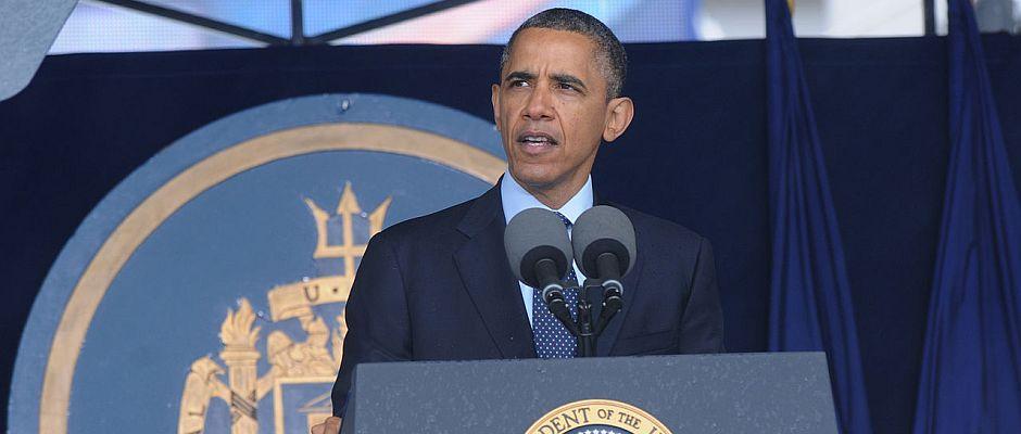 Hat seinen Platz in den Geschichtsbüchern seit gestern sicher: US-Präsident Barack Obama.
