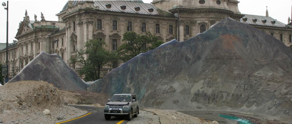 Der Karlsplatz in München wird schon bald wie auf dieser Fotomontage aussehen.