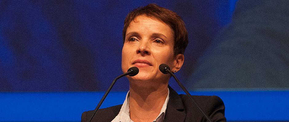 Fordert den Mindesthohn für Flüchtlinge: Frauke Petry.