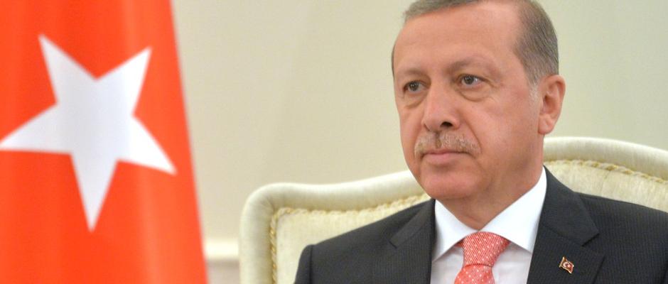 Darf eigentlich gar nicht abgebildet werden, wir haben aber eine Sondererlaubnis: Recep Tayyip Erdogan.