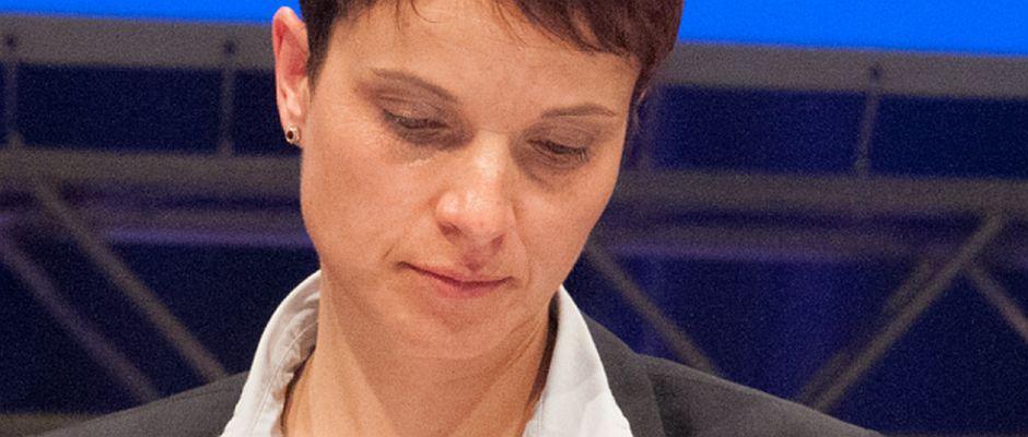 Muss schlechte Nachrichten verdauen: Frauke Petry.