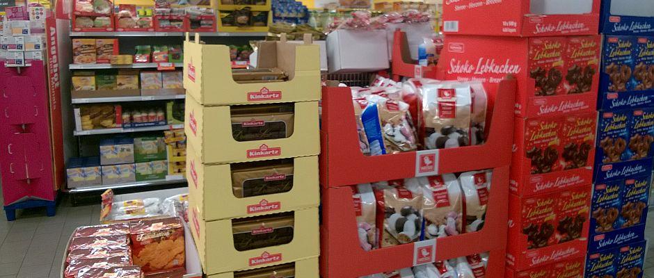 Seit heute wieder im Handel: Weihnachtsgebäck.