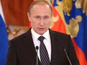 Freut sich auf die WM im eigenen Land: Russlands Präsident Vladimir Putin.