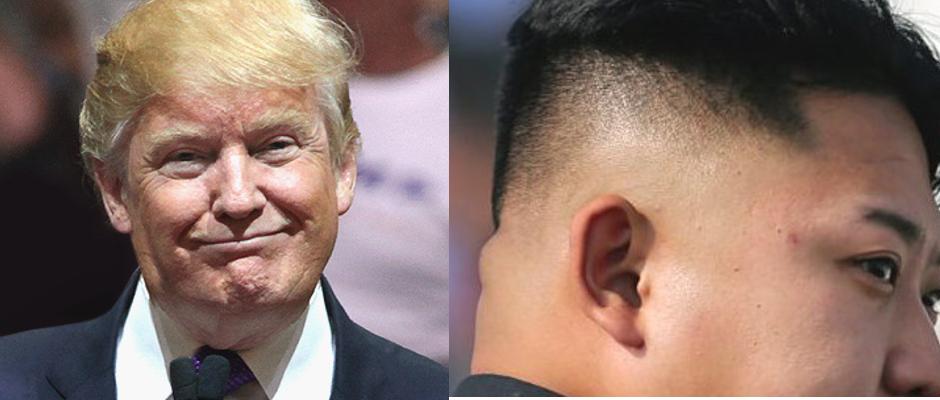 Donald Trump (links) und Kim Jong-un legen viel Wert auf ihr Äußeres.
