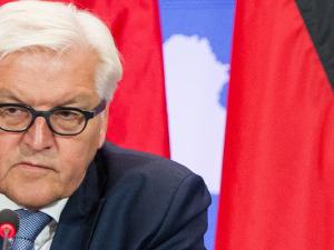 """""""Zu dem ganzen Vorgang fällt mir echt nichts mehr ein"""": Außenminister Fank-Walter Steinmeier äußerte sich heute Morgen zu seiner Kür zum Bundespräsidentschaftskandidaten."""