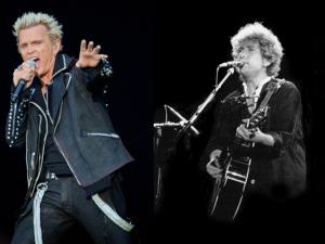 Madonna, Billy Idol, Bob Dylan, Lana Del Rey - nur einige der Stars und Sternchen, die in Sicherheit gebracht wurden.