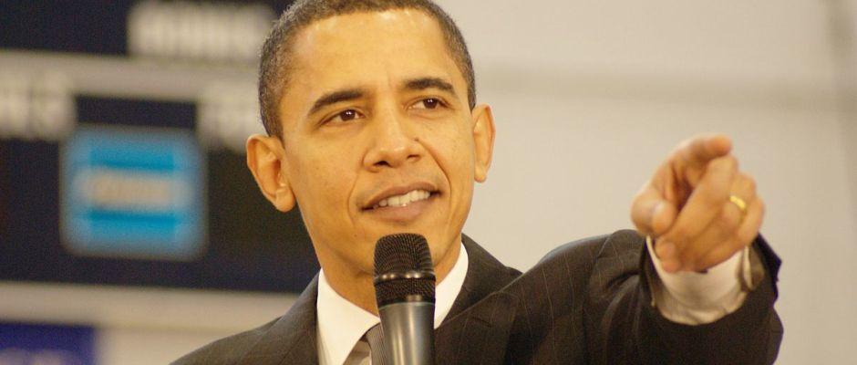 """""""Haha, reingelegt!"""" - der ehemalige US-Präsident Barack Obama wenige Minuten nach dem Ende seiner Amtszeit."""