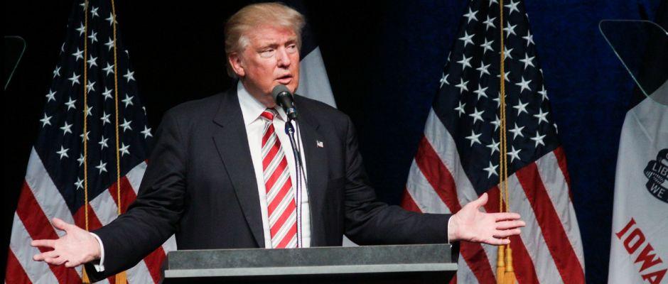 Offenbar kein großer Fan vom neuen Präsidenten: der Milliardär Donald Trump