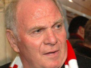 War nach der Partie gegen den HSV restlos bedient: Uli Hoeneß.
