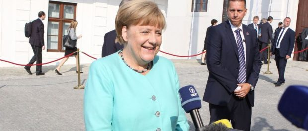 Merkel sieht seit gestern Abend der kommenden Bundestagswahl etwas gelassener entgegen.