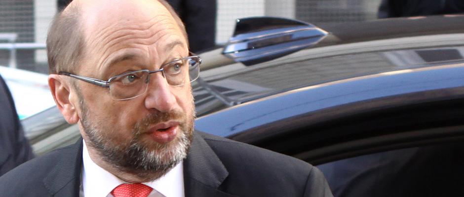 Dank ihm steigen die Zustimmungswerte der SPD: Noch-Spitzenkandidat Martin Schulz.