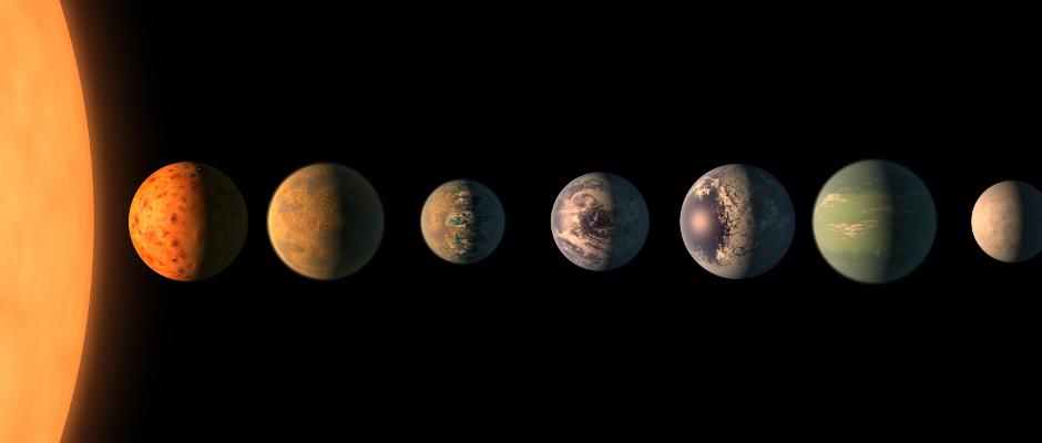 Jeder dieser Exoplanten, die den Stern Trappist-1 umkreisen, übertrumpft die Erde geistig um Lichtjahre.