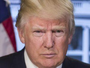 Schmollt: Donald Trump.