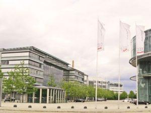 Die Audi-Zentrale in Ingolstadt. Auch hier blieb die Razia bisher ohne Ergebnis.