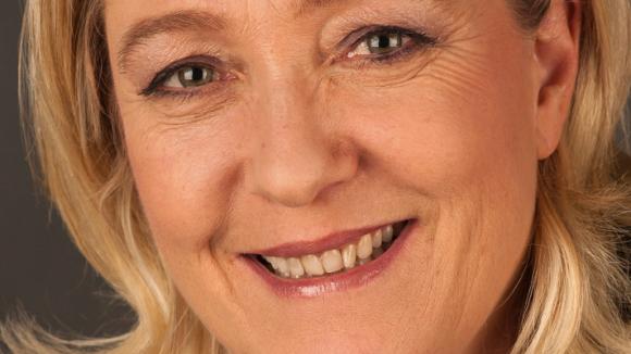 Marine Le Pen auf einer früheren Aufnahme.