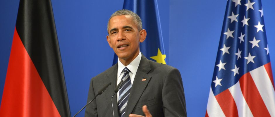 Barack Obama auf einer älteren Aufnahme.