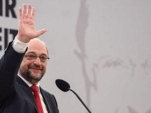 Freut sich über sein großartiges Steuerkonzept: Martin Schulz.