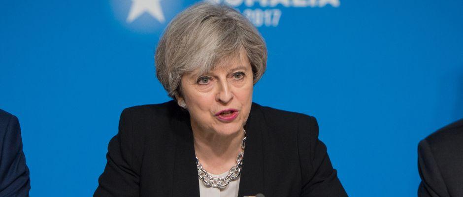 Hat sich das alles irgendwie ganz anders vorgestellt: Theresa May.