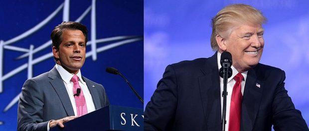 War am Ende fast der bessere Trump: Anthony Scaramucci (links) muss sein Amt als Kommunikationsdirektornach nur zehn Tagen bereits wieder aufgeben.