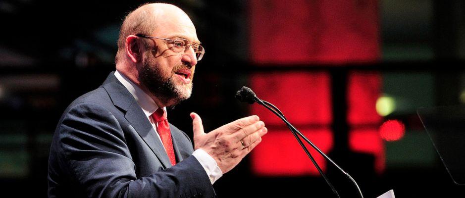 Glaubt ganz fest an seinen Wahlsieg: Martin Schulz.