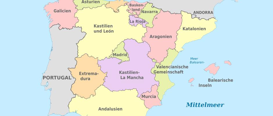 Spanien Katalonien Karte.Um Ein Zeichen Zu Setzen 16 Restliche Regionen Erklaren