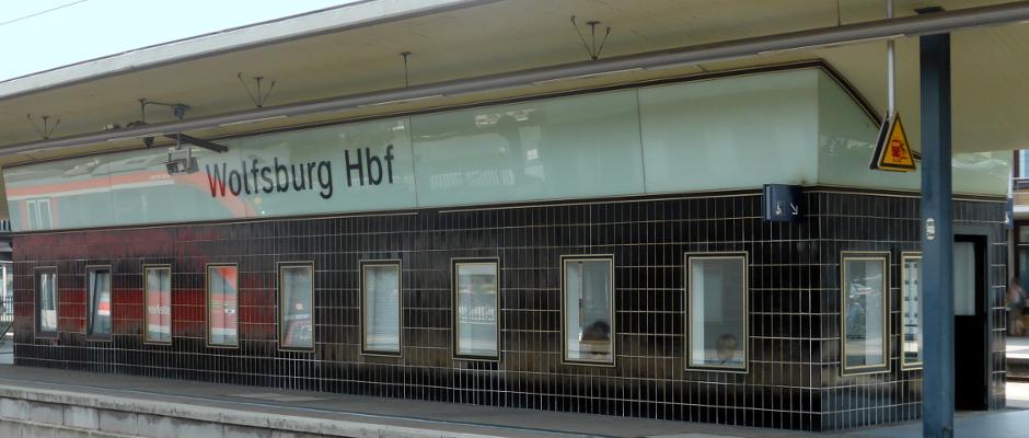 Wer weiß, wie lange er noch benötigt wird: Der Hauptbahnhof in Wolfsburg.