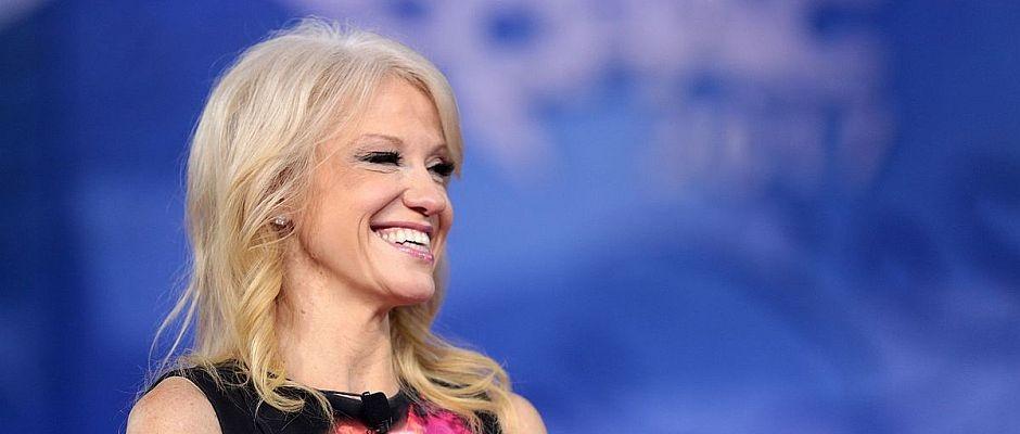 """""""Alternative Fakten"""": Trump Beraterin Conway will Preis für Unwort des Jahres persönlich entgegennehmen"""