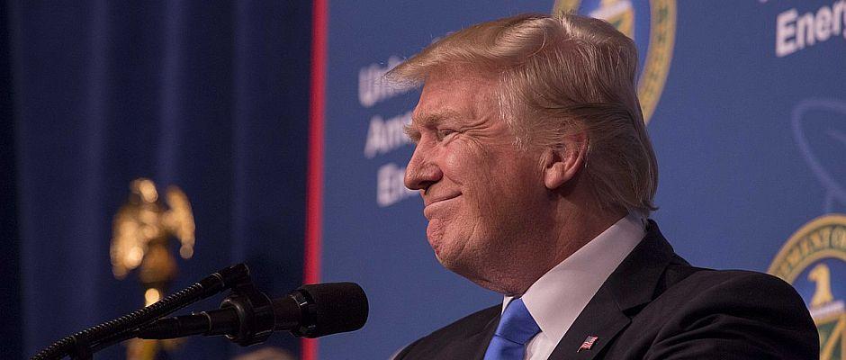 Freut sich: Donald Trump