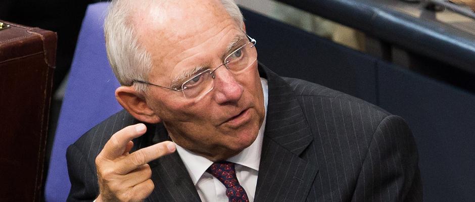 Haushaltsüberschuss: Ehemaliger Finanzminister Schäuble erhält fetten Bonus