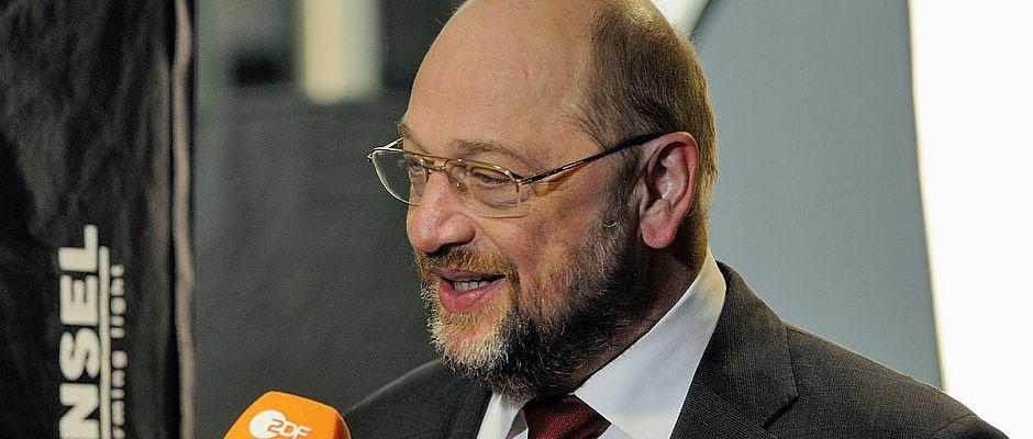 Stolz auf das Ergebnis: Martin Schulz