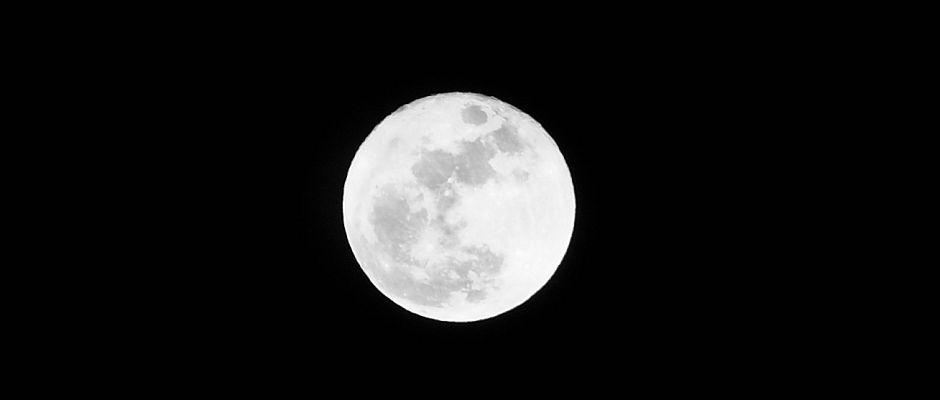 Wird zukünftig nicht mehr so schön leuchten wie bisher: Der Mond.