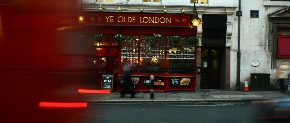 Ein Pub in London.